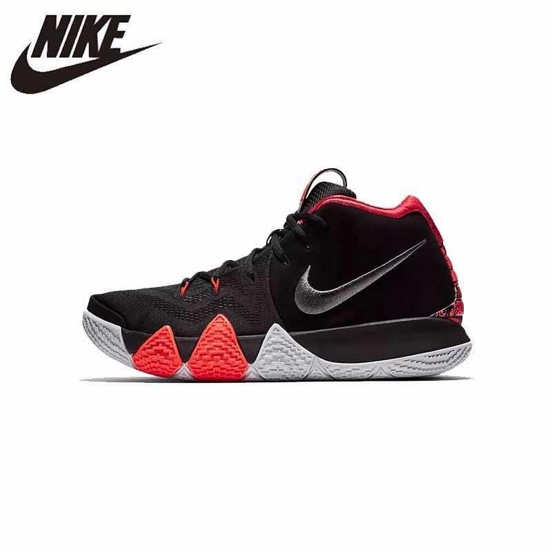 نايك KYRIE 4 EP الأصلي جديد وصول الأصلي الرجال حذاء كرة السلة مريحة تنفس رياضة المشي في الهواء الطلق أحذية رياضية #943807