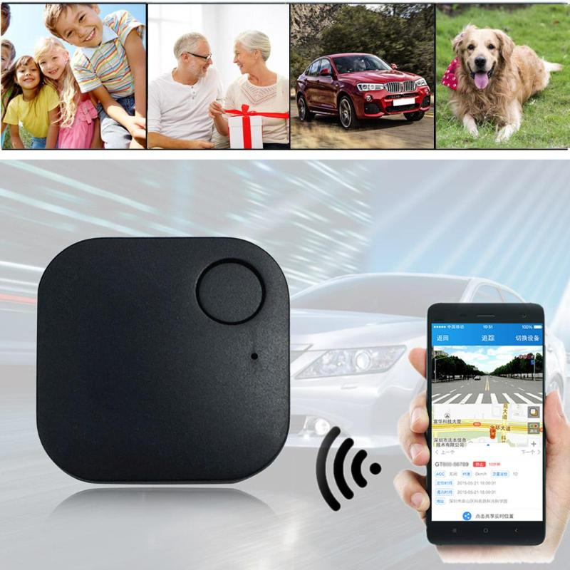 Mini GPS Tracking Device Finder Auto Car Pets Kids Motorcycle Tracker Track Remote Contorl Anti-lost Tracker Device 37*37*5.6mm image