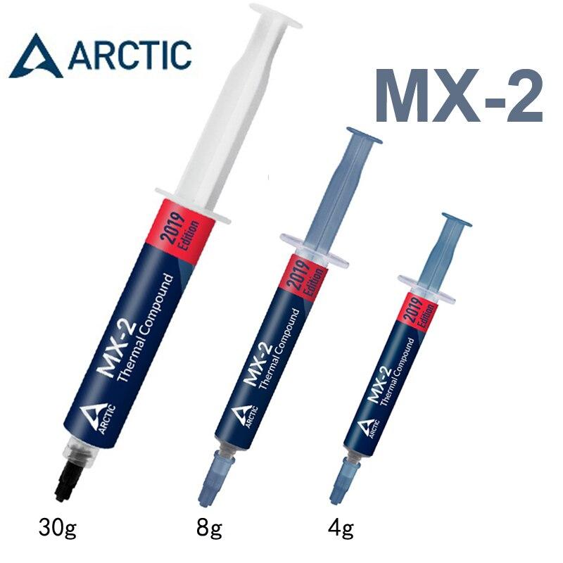 ARKTISCHEN MX-2 4g 8g 30g prozessor CPU GPU KÜHLER Thermische Verbindung Thermische Fett Leitfähigen Kühlkörper Gips fan thermische paste