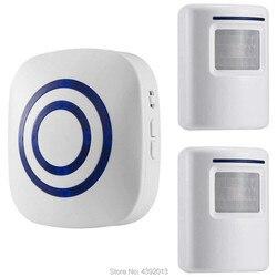 Alarm z czujnikiem ruchu  bezprzewodowe systemy alarmowe zestawy do domu bezpieczeństwa  czujnik ruchu Segurida wykrywa Alarm 2 czujnik i 1 odbiornik|Zestawy systemów alarmowych|   -