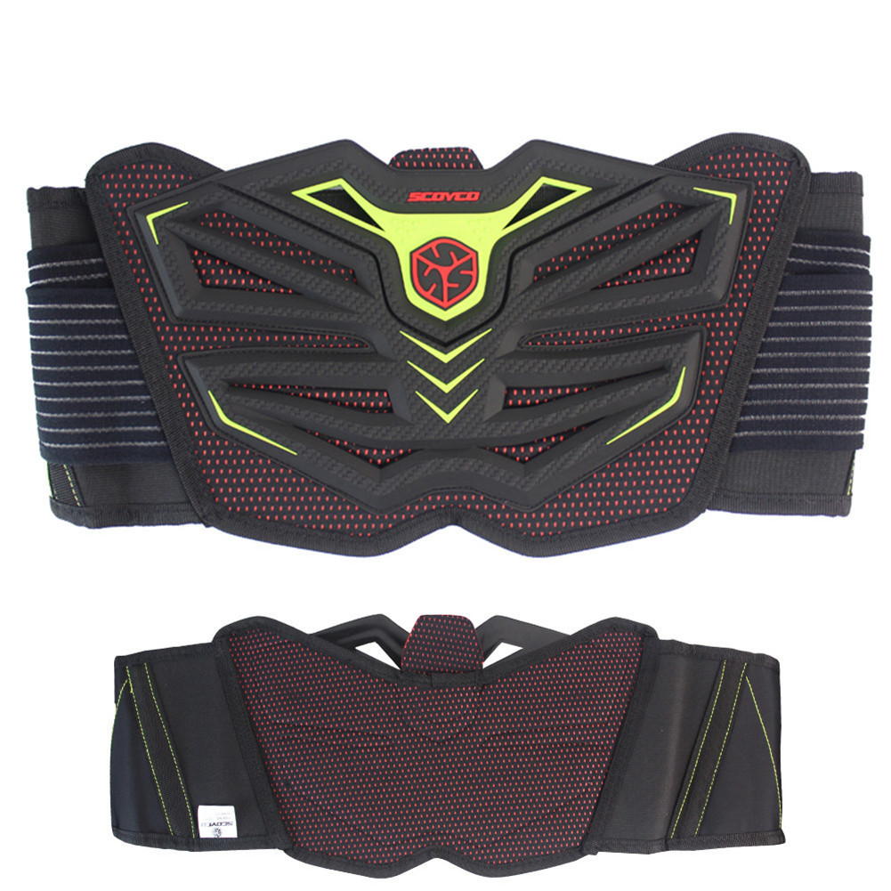 SCOYCO U11 Motorcycle Kidney Belt Waist Protector Brace Motocross Off Road Racing Safety Belt MX ATV Road Protective Sports Gear