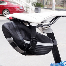 2019 New Bicycle Bike Waterproof Storage Saddle Bag Seat Cycling Tail Rear Pouch Bicycle Bags kugai cycling bicycle bike fashion saddle seat tail bag black red 12 l
