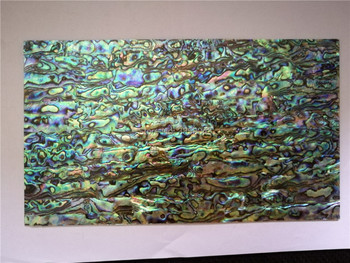 2mm thick blue color AAA grade abalone paua shell laminate sheet for guitar and wood inlay qch209