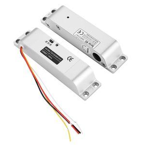 Image 5 - DC12V 1000KG חשמלי זרוק דלת מנעול מגנטי אינדוקציה שער הגישה כניסת בקרת שער נעילת 0s/3s/6s עיכוב פונקציה