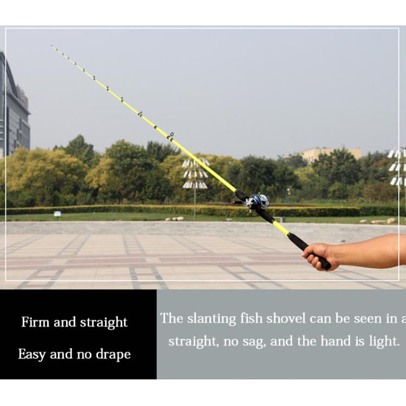 Flexible Fishing Rod Suitable to Bait and Lure Large Fishes Available in Snipping and Casting Type 3
