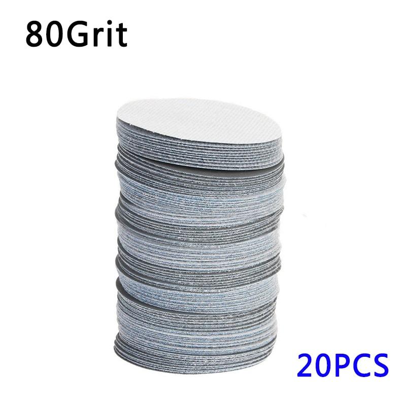 50pc 38mm 240Grit Polishers Buff Pad Abrasive Buff//Polishing Wheel 3mm Shank
