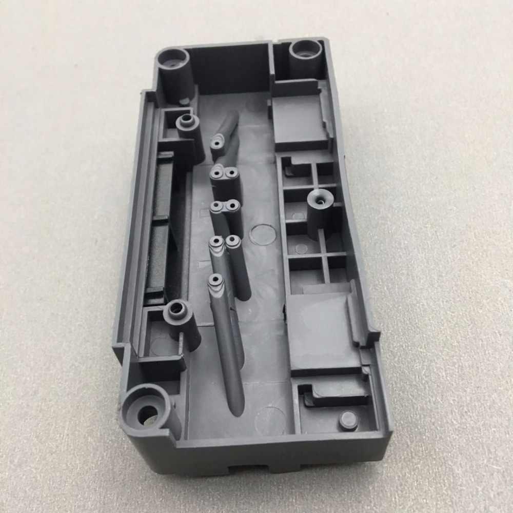 Untuk Epson F186000 DX5 Penutup Kepala Adaptor untuk Mimaki JV33 JV5 Roland Zhongye Myjet Skycolor Eco Solvent Plotter Printer Manifold