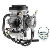 Motorcycle Carburetors Fits for Yamaha ATV Kodiak 400 2WD 4WD YFM400 2000 2003 Carb Silver AR1268CA109RA