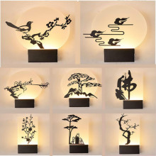 цены Simple Modern Living Room Background Wall Lamp BedsideDecorative Hallway Led Lamp Sconce Indoor Sconce Wall Lights