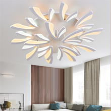 Modern Led Ceiling Lamp Chandelier Lighting Loft Living Room Fixtures Bedroom Ceiling Lamp Home Hanging Lamp Luminaire Lustre modern clear waterford spiral sphere led lustre crystal chandelier ceiling lamp suspension pendant lamp home lighting luminaire