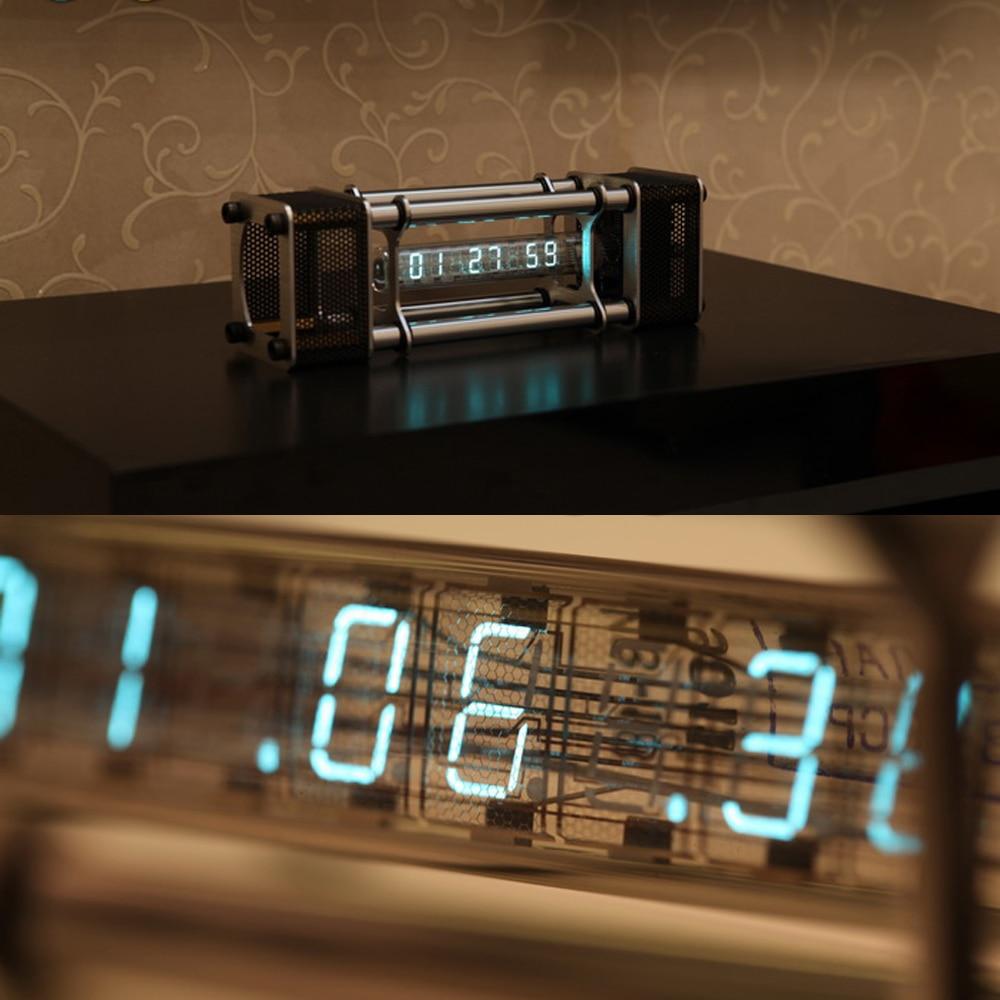 В разобранном виде IV 18 люминесцентная трубка электронные часы комплект DIY 6 цифровой дисплей энергетический столб с модулем дистанционного управления - 4