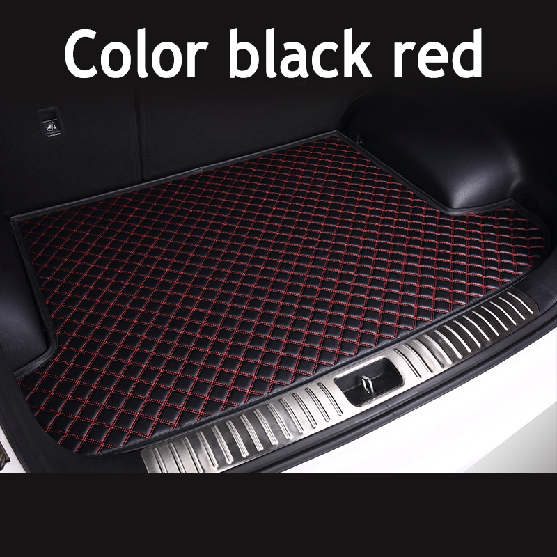 ZHAOYANHUA car Trunk mats for Mercedes Benz M <font><b>ML</b></font> GLE class W164 <font><b>W166</b></font> 250 300 320 <font><b>350</b></font> 400 450 500 550 rugs car styling carpet image
