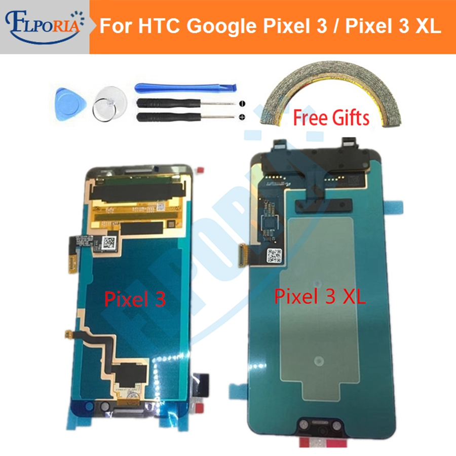 5.5 For HTC Google Pixel 3 LCD Display Touch Screen Digitizer Assembly Google Pixel 3XL LCD Screen For Google Pixel 3 XL LCD 6.3