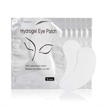 200 pares de almohadilla de gel para ojos hidratante película para ojos parche herramientas de extensión de pestañas