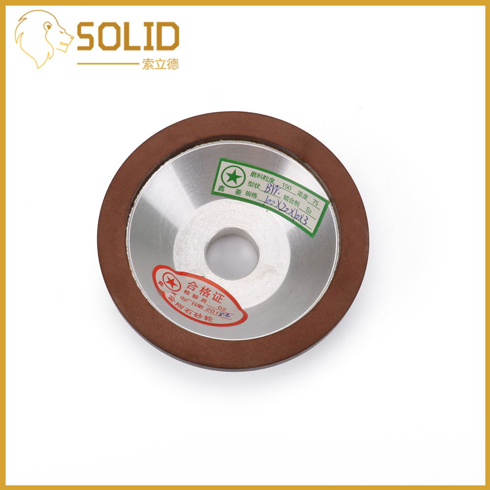 Diamond Grinding Wheels Cup Grinding Disc For Milling Cutter Tool Sharpener Grinder Accessory 100x20x10x3mm 120/150/320/400Grit