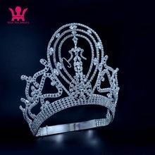 Accesorios de joyas para el pelo de princesa Mo134, Tiaras de corona para espectáculos de graduación y fiestas