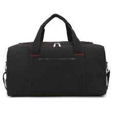 Women Canvas Handbag Large Capacity bag Short-haul Backpack Multifunctional Pockets men Shoulder Bag Luggage Travel Garment Bags осеева в а волшебное слово рассказы и стихи