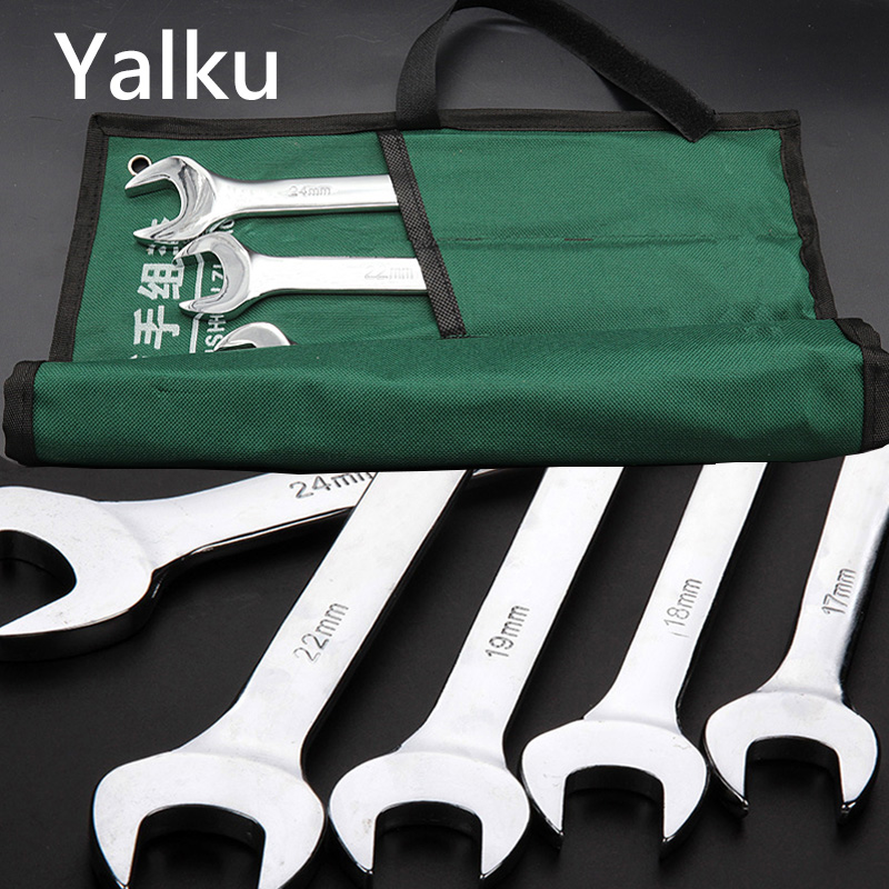 Yalku Ratchet Combination Metric Wrench Set Hand Tool Fine Tooth Gear Ring Torque Ratchet Wrench Combination Spanner Repair ToolYalku Ratchet Combination Metric Wrench Set Hand Tool Fine Tooth Gear Ring Torque Ratchet Wrench Combination Spanner Repair Tool
