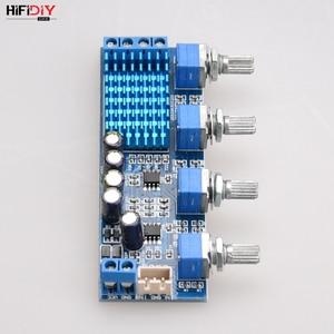 Image 5 - HIFIDIY TPA3116 2.0 amplificateur carte voiture numérique Audio amplificateur 50W * 2 TPA3116 maison aigus milieu basse ajuster pour haut parleur A2.0 4P
