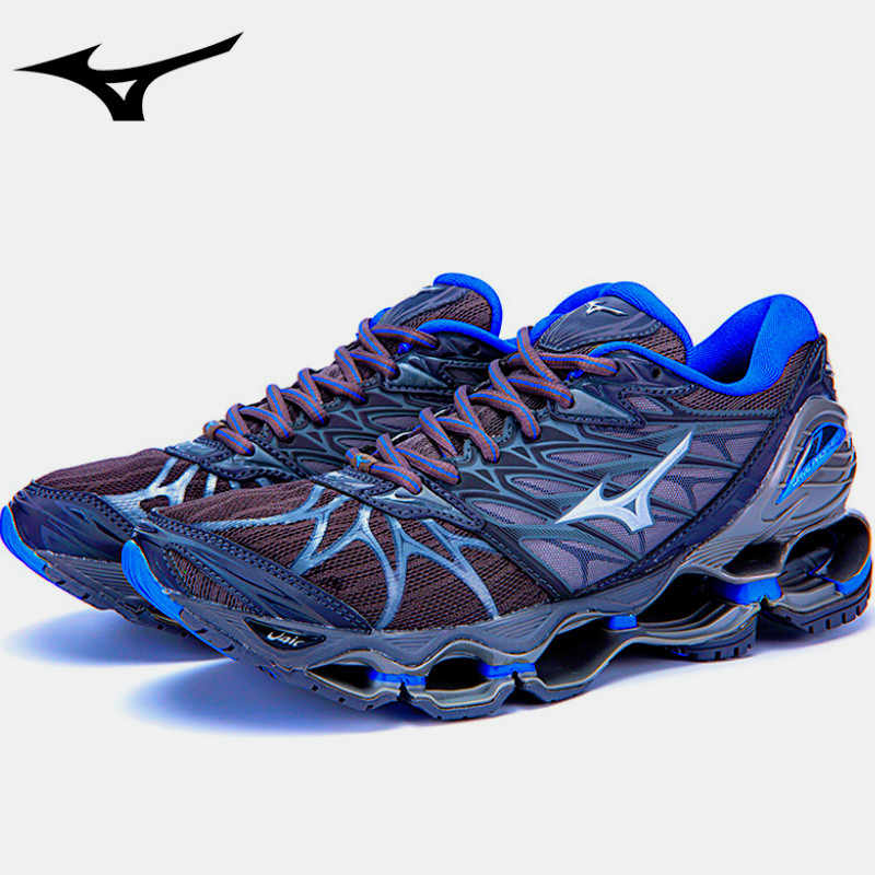 Tenis Mizuno Wave Prophecy 7 Original Professional 5 Colors Men Shoes  Weight Lifting Shoes Sneakers Size b06f48c369f