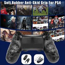 Soft Rubber External Grips Protective Case For PS4 Handle Left Right Anti-skid Protection Shell Cover For Ps4