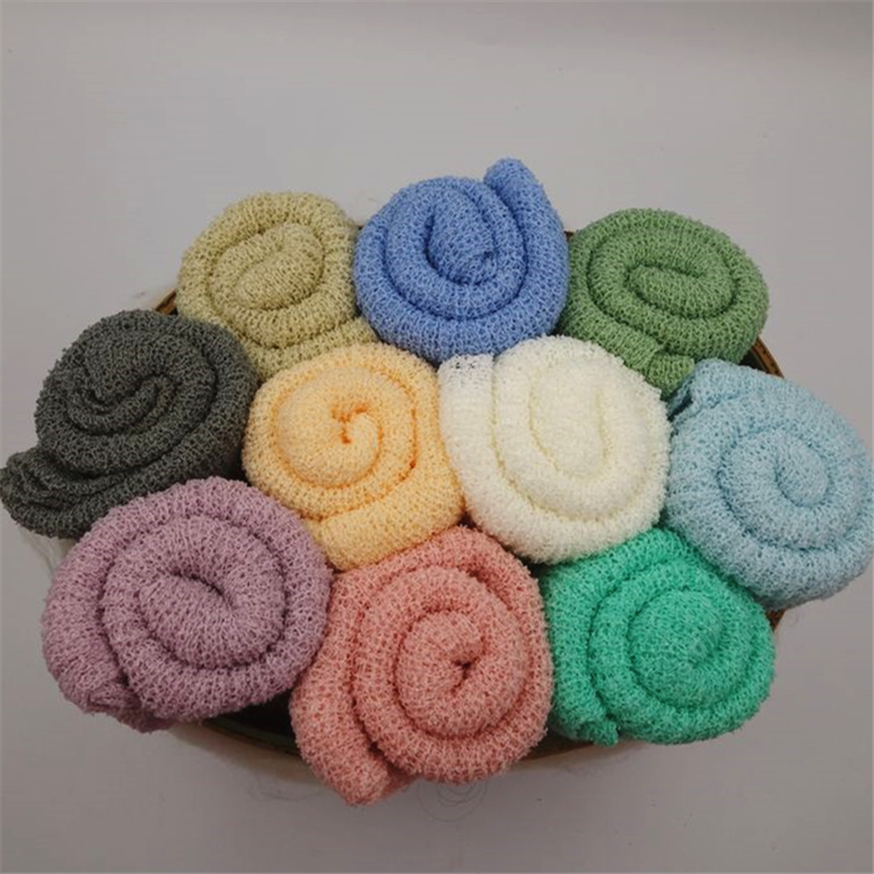 Curly Felted Wool Layer Baby Photography Props Wool Baby Blanket Posing Nest Basket Stuff P2164
