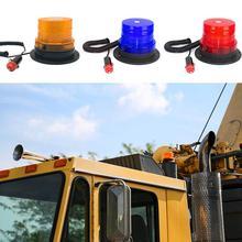 SOL светодиодный 12 В/24 В светодиодный мигающий Предупреждение светильник для автомобиля, грузовика, полицейский светодиодный мигающий аварийный светильник, s маячок, лампа с магнитным креплением