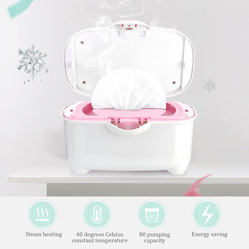 Baby Wipes Heater Warmer Wipes Insulation Thermostatic Bag Multifunctional Wet Towel Dispenser Heater