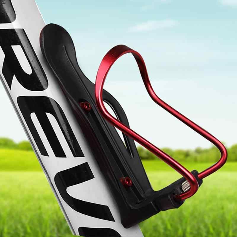 Suporte para garrafa de Nova Liga de Alumínio Da Bicicleta Da Bicicleta Ciclismo Beba Garrafa de Água Titular Rack Gaiola Garrafa Titular