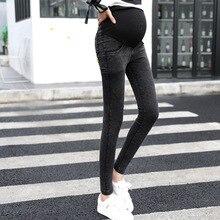Maternity Jeans For Pregnant Trousers Women Clothes 2019 Autumn Ladies Pregnancy Leggings Denim Pencil Pants Pantalon Grossesse цена и фото