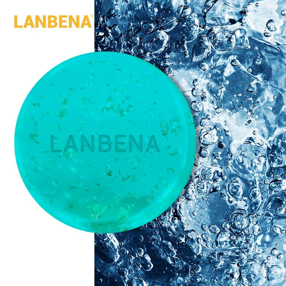 Tratamento da Acne Aning Lanbena 24 k Ouro