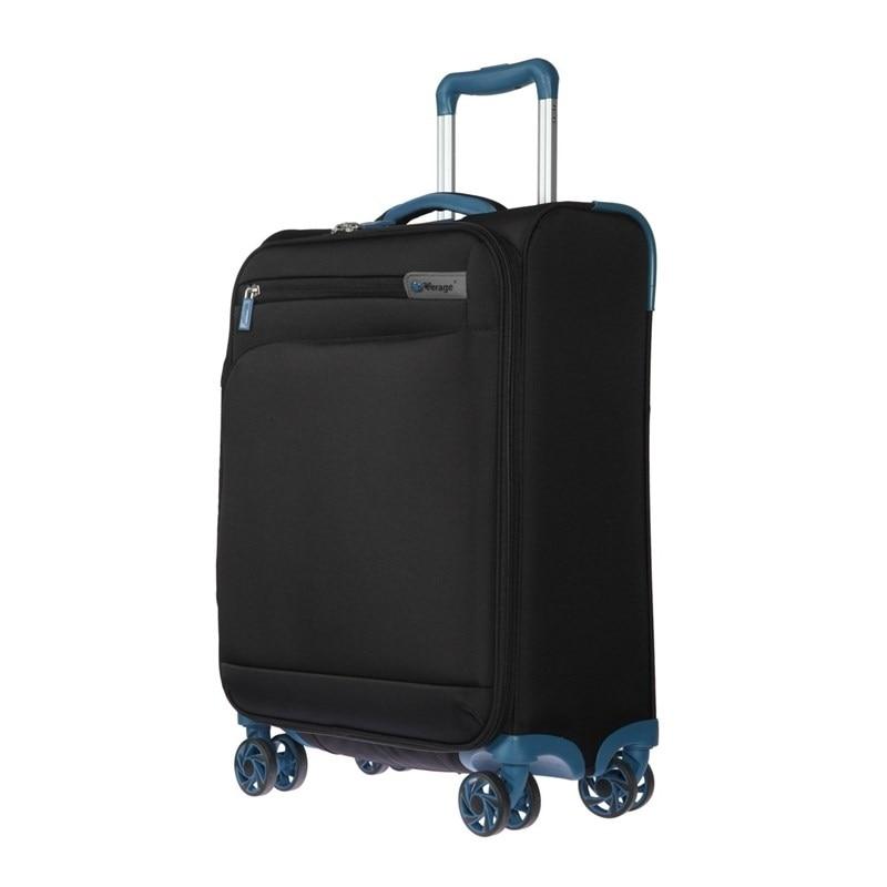 Suitcase-trolley Verage GM17016W20 black portable plastic folding trolley black