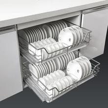 Accessories Rangement Cuisine Pantry Organizador Armario Stainless Steel Cozinha Organizer Cocina Kitchen Cabinet Basket