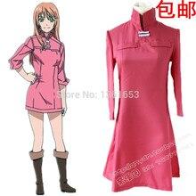 Anime The World is Still Beautiful Soredemo Sekai wa Utsukushii Dress Cosplay Costume dress cos nice women pink dress