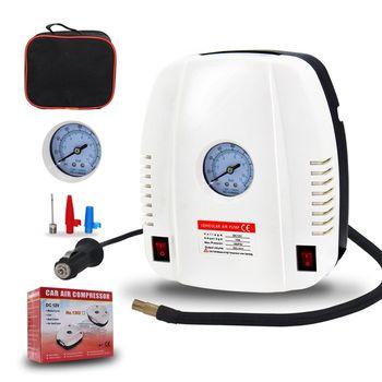 Pompe Ad Aria Elettriche | Elettrico Portatile Di Gonfiaggio Dei Pneumatici Auto Pompa 12V Compressore D'aria Auto Ha Condotto La Luce Digitale Gonfiabile Pompa 120W