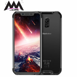 Перейти на Алиэкспресс и купить blackview bv9600 pro ip68 shockproof waterproof mobile phone android 8.1 6gb+128gb helio p60 octa core 5580mah nfc 4g smartphone