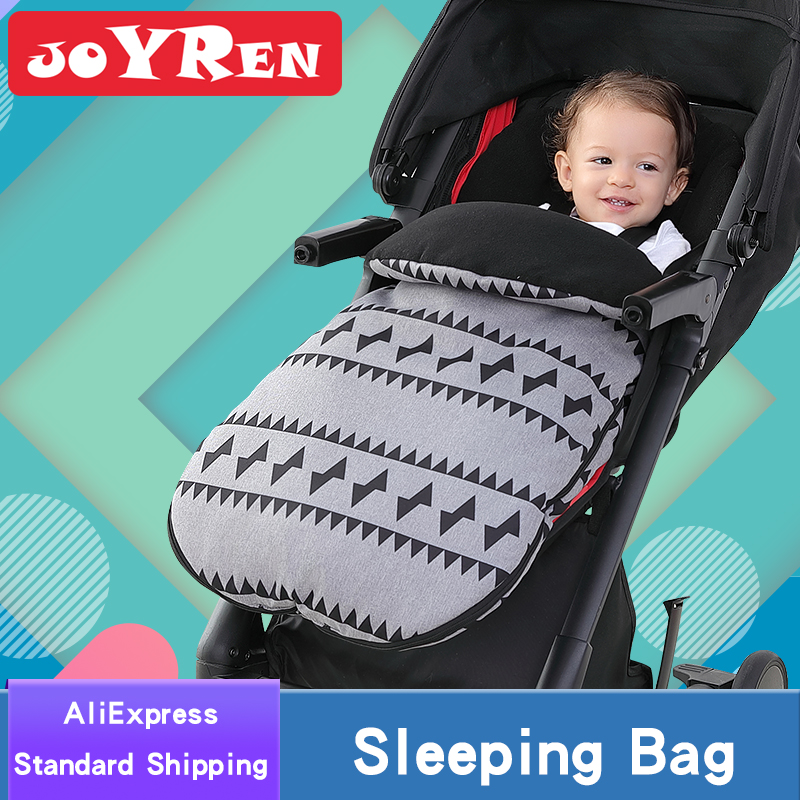 Stroller Footmuff by JOYREN Multifunctional Baby Sleeping Bag with Thicken Polar Fleece to Keep Your Baby Toasty in Winter