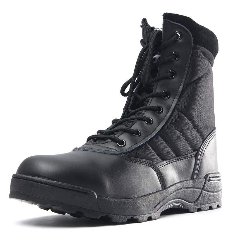 Homens Sapatos Lace Mens Nis Botas Militares Táticas De Color Moda Alta preto up Combate Exército Sand Camuflagem Deserto Top Do Inverno qSY4qfw