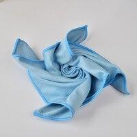 3 шт. супер воды абсорбент и прочный Miciofiber Стекло Ткань для очистки окна полотенца 35x35 см