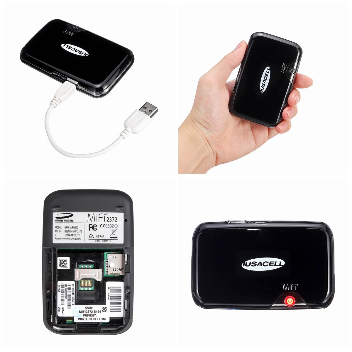Image 4 - MF2372 3G Pockets Wifi Router Portable Car Mobile Wifi Hotspot Wireless Broadband Unlockeds Modem 850/900/1800/1900/2100MHz-in Wireless Routers from Computer & Office