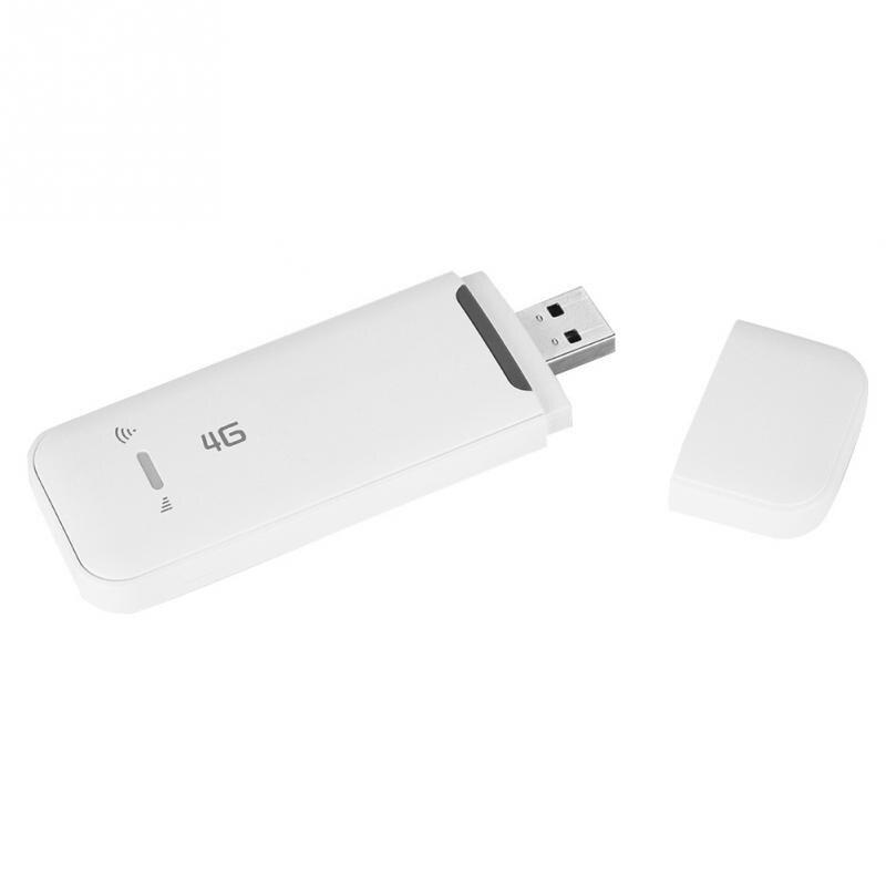 Hohe Geschwindigkeit 4g Wireless Usb Netzwerk Karte Wifi Modem/adapter/empfänger Fdd B1/b3/b5 Unterstützung Wifi Und Tf Karte Angenehme SüßE Computer & Büro 3g-modems