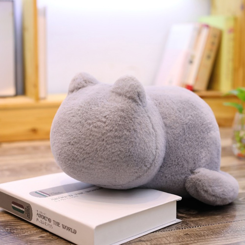 Kawaii Plush Cat Toys Staffed Cute Shadow Cat Dolls Kids Gift Doll Lovely Animal Toys Soft Pillows cushion stayreal ashin Cat Revlon Pro Collection Salon One-Step Hair Dryer and Volumizer