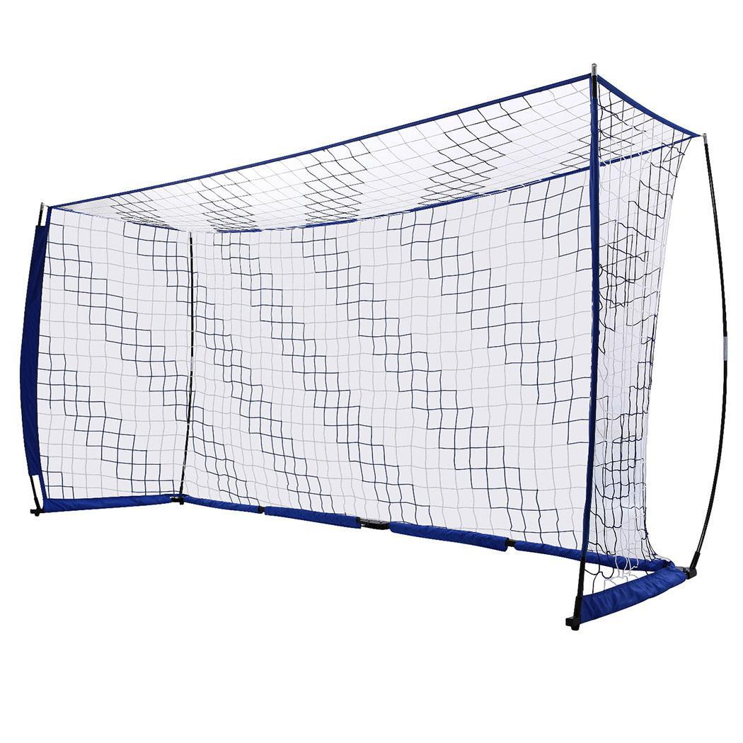 Style Blue Soccer 6 Net Perfect Red Portable For 12ft Ft Bow Goal Soccer X