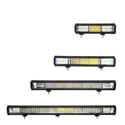 26 cal 6D LED robocza listwa oświetleniowa 288w 432w 648w 864w Spot powódź Combo jazdy Off-Road SUV Offroad lampa robocza 12/24V
