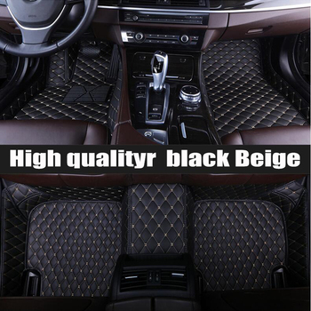 ZHAOYANHUA	Custom fit car floor mats for Toyota Tundra Sequoia 4Runner 5D heavy duty all weather  carpet floor liners(2008-now)