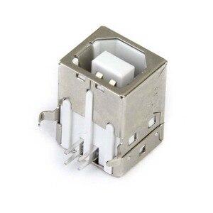 Image 5 - Lote de 6 pces substituição usb conector soquete tipo b fêmea ângulo direito