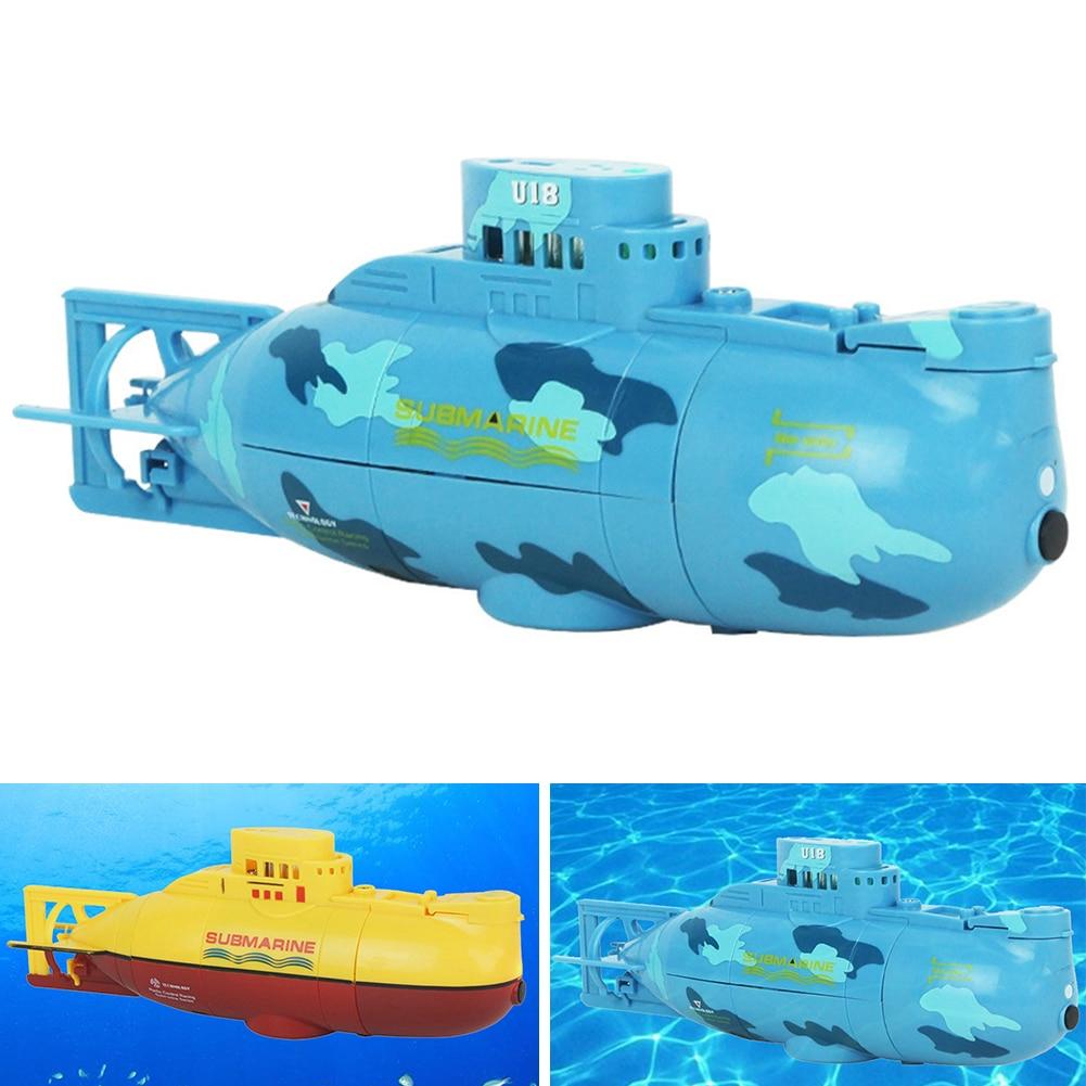 Rc Submarine Outdoor Spielzeug Fernbedienung Spielzeug Kinder Mini Submarine Schnellboot Modell High Powered 3,7 V Große Modell Moderater Preis Fernbedienung Spielzeug