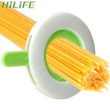 HILIFE пластиковые спагетти мера Паста Лапша измерительный инструмент Регулируемый контроллер инструмент