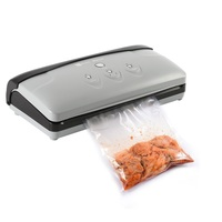 Automatic Electric Vacuum Sealer with Starter Kit Packaging Machine for Bag Resealer Food Saver Kitchen Equipment