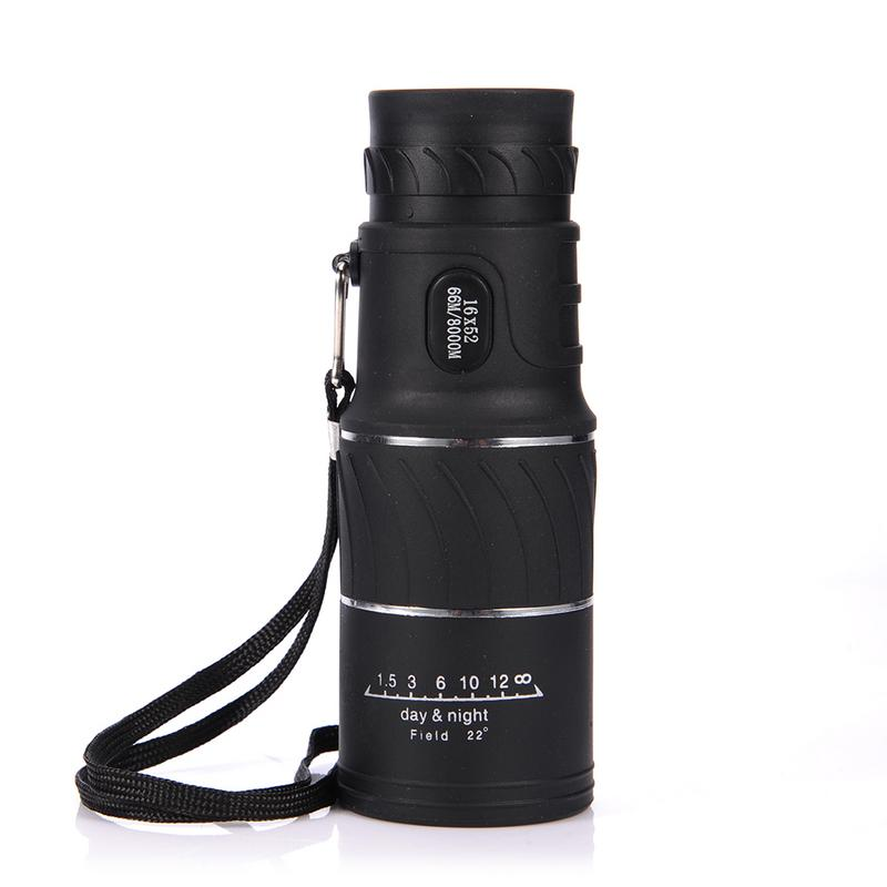 Monocular Telescope Mobile-Phone-Holder Dual-Focus-Zoom Night-Vision Optic-Lens Travel